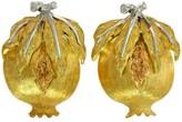 Buccellati 18K Yellow Gold Pomegranate Earrings