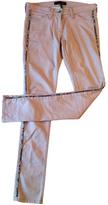 Isabel Marant Pink Cotton - elasthane Jeans
