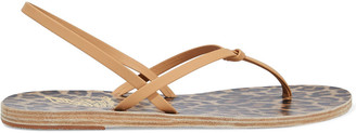 Ancient Greek Sandals Dorothea Knotted Leather Slingback Sandals