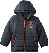 Osh Kosh Boys 4-7 Quilted Fleece-Lined Hooded Jacket