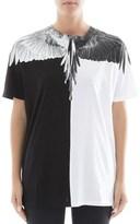 Marcelo Burlon County of Milan Women's White/black Cotton T-shirt.