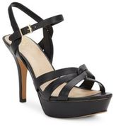 Vince Camuto Princey Leather Platform Sandals