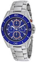 Michael Kors Jetmaster MK8461 Men's Round Silver Stainless Steel Watch