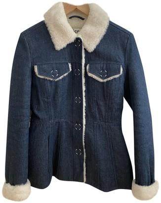 Acne Studios Blue Shearling Jacket for Women