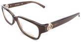 Tory Burch Dark Brown Square Eyeglasses