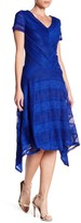 Sangria Layered Lace Dress