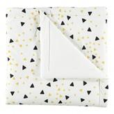 Nobodinoz Yellow and Black Triangle Quilt