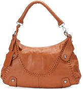 Donna Bella Timeless Beauty Leather Laced Hobo