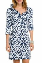 Gretchen Scott Ruffneck Jersey Dress