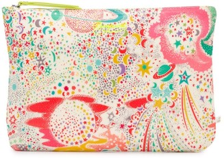 Bonpoint Abstract Print Zipped Bag