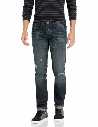 Cult of Individuality Men's Rocker Slim Fit Jean in Eclipse 32
