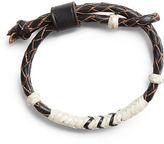 Ralph Lauren RRL Braided Rawhide Bracelet