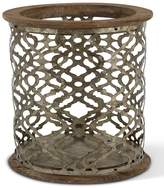 Gerson 12.99 Wood & Metal Flameless Candle Holder