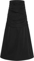 Ellery Noveau Riche Rouched Midi Skirt