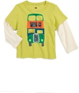 Tea Collection Infant Boy's Dundee Bus Layer T-Shirt