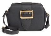 Burberry Small Buckle Leather Crossbody Bag - Black
