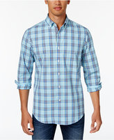 Club Room Men's Pierre Plaid Cotton Shirt, Only at Macy's