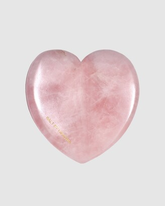 SALT BY HENDRIX Women's Pink Wellness Essentials - Love Gua Sha - Rose Quartz - Size One Size at The Iconic