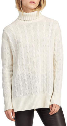 Polo Ralph Lauren Cable-Knit Turtleneck Sweater