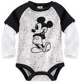 Disney Mickey Mouse Vintage Double-Up Cuddly Bodysuit for Baby