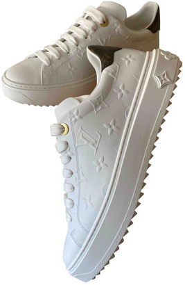 Louis Vuitton TimeOut White Leather Trainers