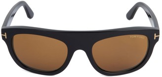 Tom Ford 55MM Square Sunglasses