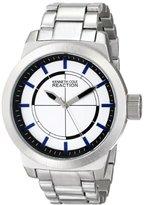 Kenneth Cole Reaction Unisex RK3252 Street Fashion Analog Display Japanese Quartz Silver Watch