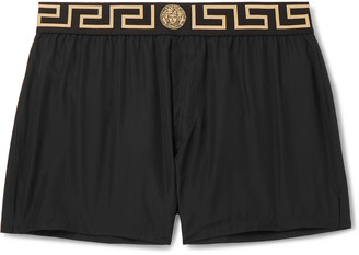 Versace Slim-Fit Swim Shorts