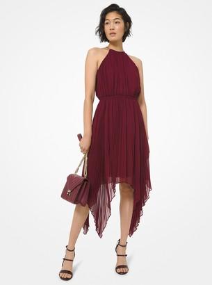 MICHAEL Michael Kors Georgette Handkerchief Dress