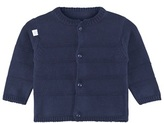 Absorba Navy Knitted Textured Stripe Cardigan