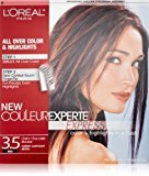 L'Oreal Couleur Experte Color + Highlights in a Flash, Darkest Mahogany Brown - Chocolate Mousse, 1 kit