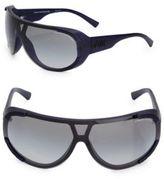 Giorgio Armani 80MM Rounded Matte Sunglasses