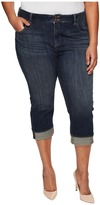Lucky Brand Plus Size Emma Crop Jeans in Abyss