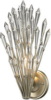 One Kings Lane Viva 1-Light Sconce, Aged Silver