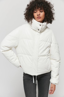 Apparis Camila Faux Leather Puffer Jacket