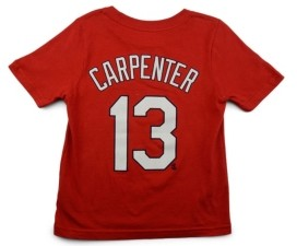 Nike St. Louis Cardinals Matt Carpenter Toddler Name and Number Player T-Shirt