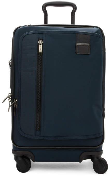 Tumi Navy Merge International Expandable Carry-On Suitcase