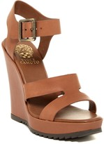 Vince Camuto Gestina Ankle Strap Wedge Sandal