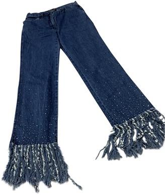 Fendi Blue Denim - Jeans Jeans for Women Vintage