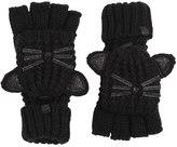 Karl Lagerfeld K/Choupette Face Knit Mitten Gloves