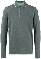 HUGO BOSS long-sleeve polo shirt - men - Cotton - L