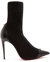 Christian Louboutin Dovi Dova stud-embellished sock boots