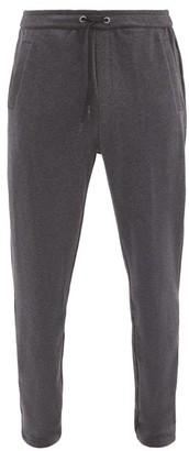 Falke Ess - Slim-fit Cotton-blend Track Pants - Dark Grey
