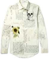 Alexander McQueen Slim-Fit Printed Cotton Shirt