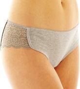JCPenney Flirtitude Lace-Accented Bikini Panties