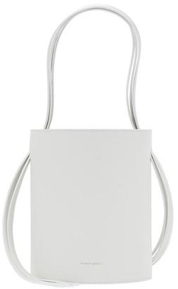 Mansur Gavriel Fringed leather bucket bag