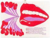 Olympia Le-Tan printed box clutch - women - Canvas/Brass/Wool Felt - One Size