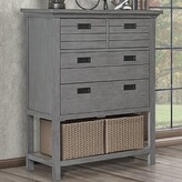 Waverly 4 Drawer Chest Evolur Color: Rustic Gray