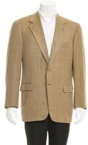 Brioni Two-Button Silk Blazer