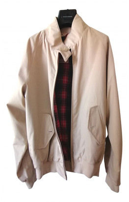 Baracuta Beige Cotton Jackets